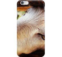 Let me go I am goat iPhone Case/Skin
