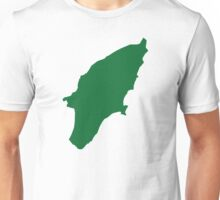 Rhodes map Unisex T-Shirt