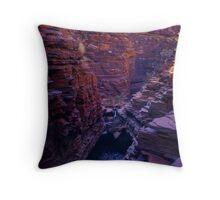 Hancock Gorge - Karijini N. P. Western. Australia Throw Pillow
