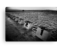 STARTING BLOCKS Canvas Print