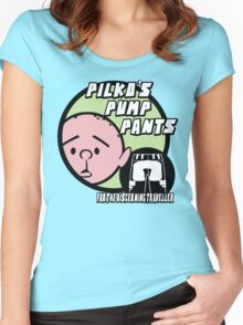 Karl Pilkington - Pilkos Pump Pants Women's Fitted Scoop T-Shirt