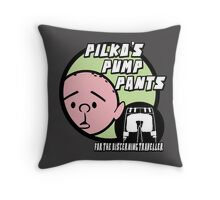 Karl Pilkington - Pilkos Pump Pants Throw Pillow