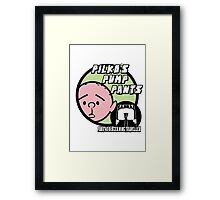 Karl Pilkington - Pilkos Pump Pants Framed Print