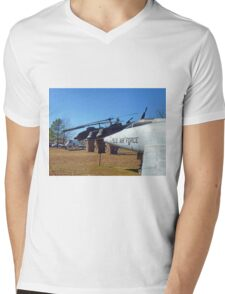 Helos and Fighter Planes Mens V-Neck T-Shirt
