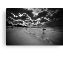 Black and White Interpretation Canvas Print