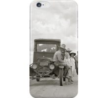 On The Road, 1937 iPhone Case/Skin