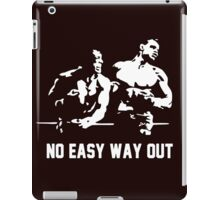 Rocky no easy way out iPad Case/Skin
