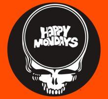Happy Mondays / Grateful Dead Steal Your Face  T-Shirt