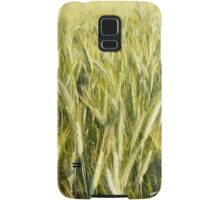 Spring green cereal plants Samsung Galaxy Case/Skin