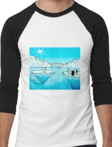 Penguins Men's Baseball ¾ T-Shirt