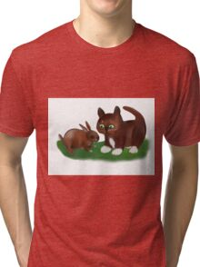 Almost Nose to Nose Tri-blend T-Shirt