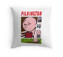 Karl Pilkington - Fan Montage Throw Pillow
