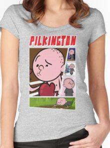 Karl Pilkington - Fan Montage Women's Fitted Scoop T-Shirt