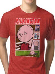 Karl Pilkington - Fan Montage Tri-blend T-Shirt
