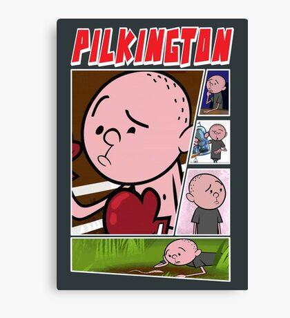 Karl Pilkington - Fan Montage Canvas Print