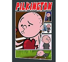 Karl Pilkington - Fan Montage Photographic Print