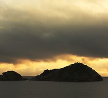 Isolated islet by Gaspar Avila