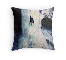 Cold Adventure Throw Pillow