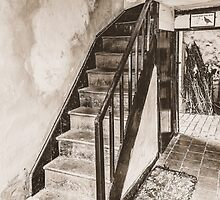 One Foot In The Past (sepia) by StephenRphoto