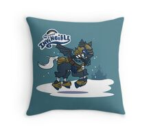 My Little Invincible  Throw Pillow