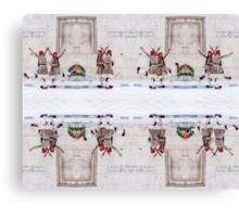 Presidential Guards Evzones X16 Canvas Print
