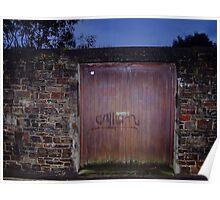 Damp Door Poster
