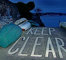 Keep Clear by Ray Smith