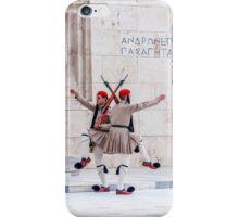 Presidential Guards Evzones X4 iPhone Case/Skin