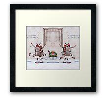 Presidential Guards Evzones X4 Framed Print