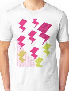 Struck by lightning Unisex T-Shirt