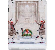 Presidential Guards Evzones X4 iPad Case/Skin