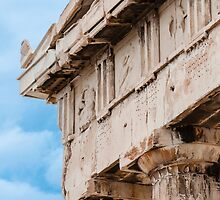 Parthenon pediment by Yevgeni Kacnelson