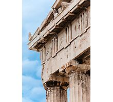 Parthenon pediment Photographic Print