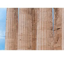 Parthenon columns Photographic Print