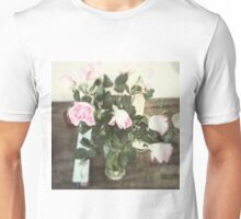 Roses And Wood Unisex T-Shirt