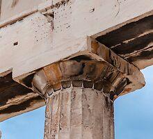 Parthenon column by Yevgeni Kacnelson