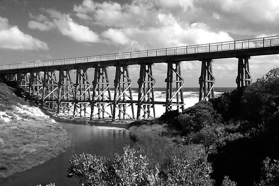 Kilcunda Trestle Bridge by John McNair