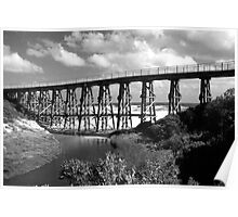 Kilcunda Trestle Bridge Poster