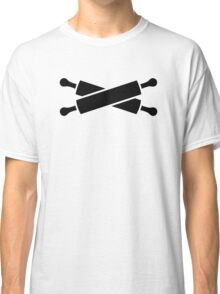 Crossed rolling pins Classic T-Shirt