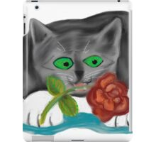 Valentine Rose from Grey Kitten iPad Case/Skin