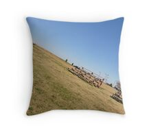The Stands Throw Pillow