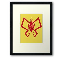 Venture Bros and Transformers Framed Print