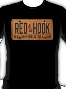 Red Hook License Plate T-Shirt