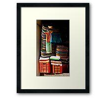 Sombrero Pile Framed Print