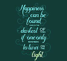 Harry Potter Dumbledore Quote - Nerdy by markomellark