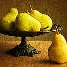 Pears and Compote by Colleen Farrell
