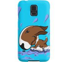 Bull Terrier Splash  Samsung Galaxy Case/Skin
