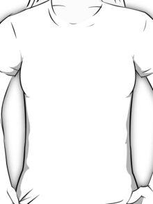 Butterfly silhouette grunge T-Shirt