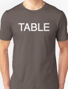 Simple Words TABLE T-Shirt