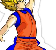 Goku Ballin Sticker